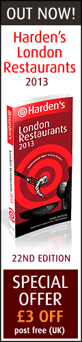 London Restaurants 2013 - buy now at &pound;3 off