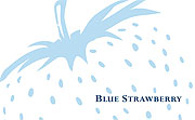 logo for Blue Strawberry
