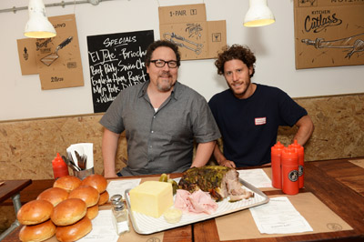 picture of Jon Favreau burger