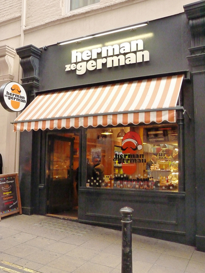 picture of Herman ze German