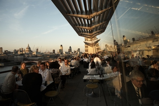 Oxo Tower, Brasserie