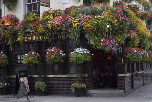 picture of churchill arms