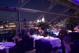 Oxo Tower, Restaurant