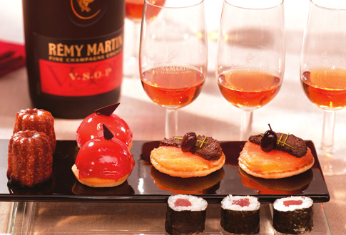 Incredible food matching with Remy Martin
